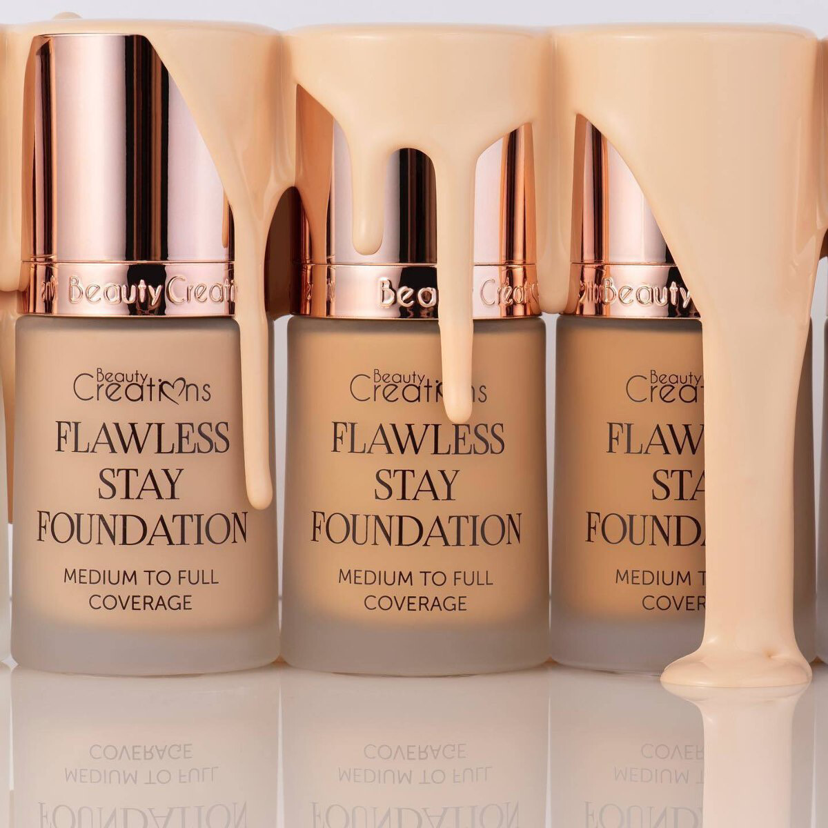 Flawless Foundation - BEAUTY CREATIONS