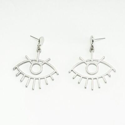 Big Eye Earrings - BLACKDOLL ACCESSORIES
