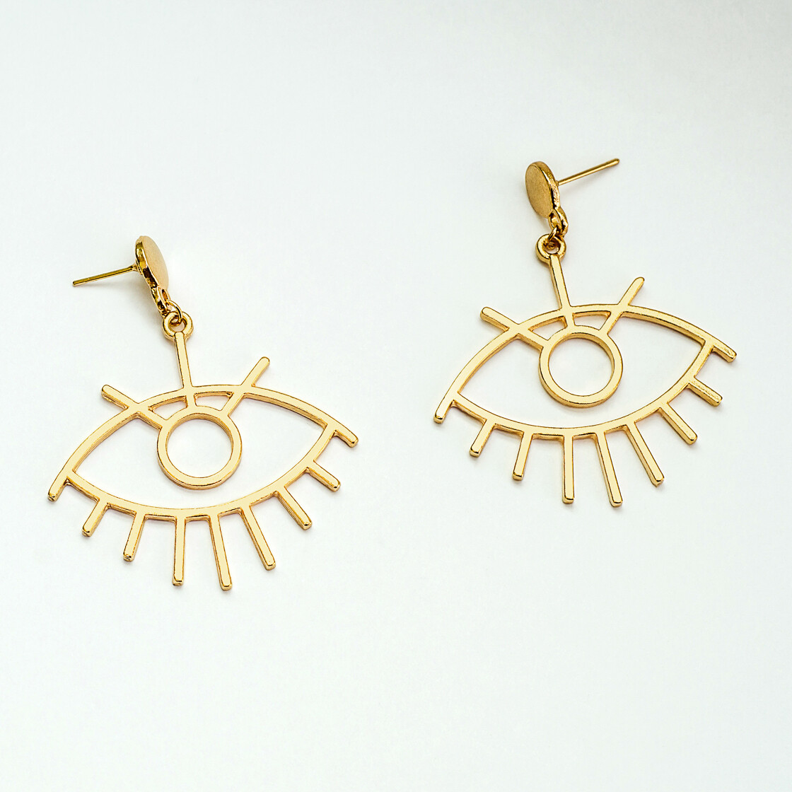 Big Eye Earrings - BLACKDOLL ACCESSORIES