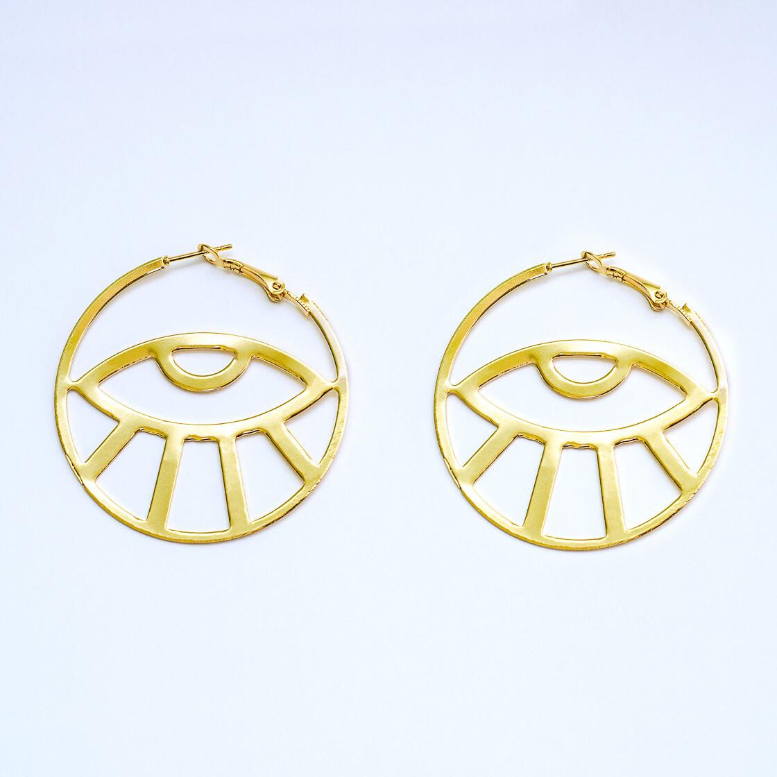 Egypt Eye Earrings - BLACKDOLL ACCESSORIES