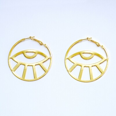 Egypt Eye Earrings - BLACKDOLL ACCESSORIES