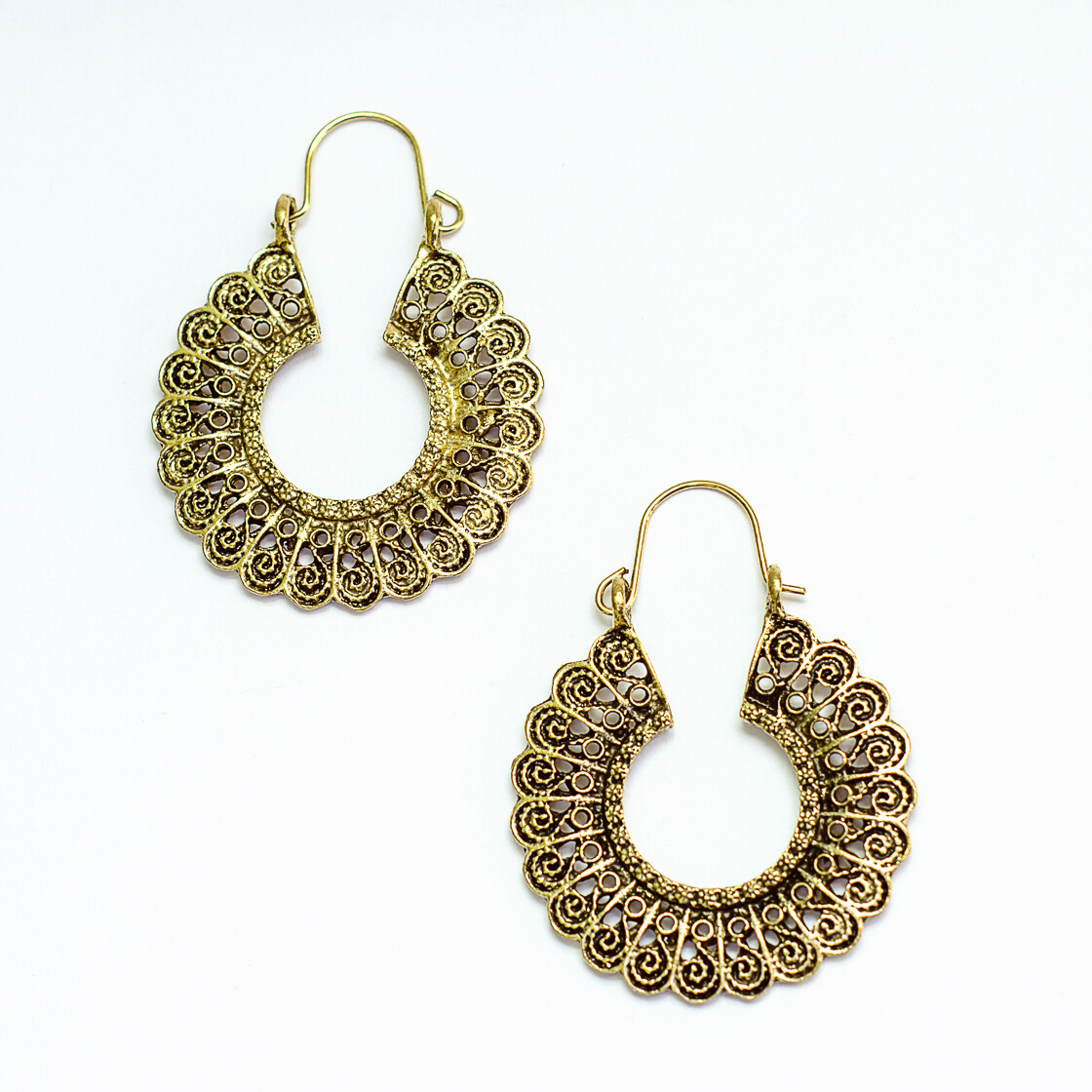 Antique Earrings 1 - BLACKDOLL ACCESSORIES