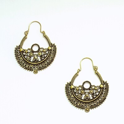 Antique Earrings 2 - BLACKDOLL ACCESSORIES