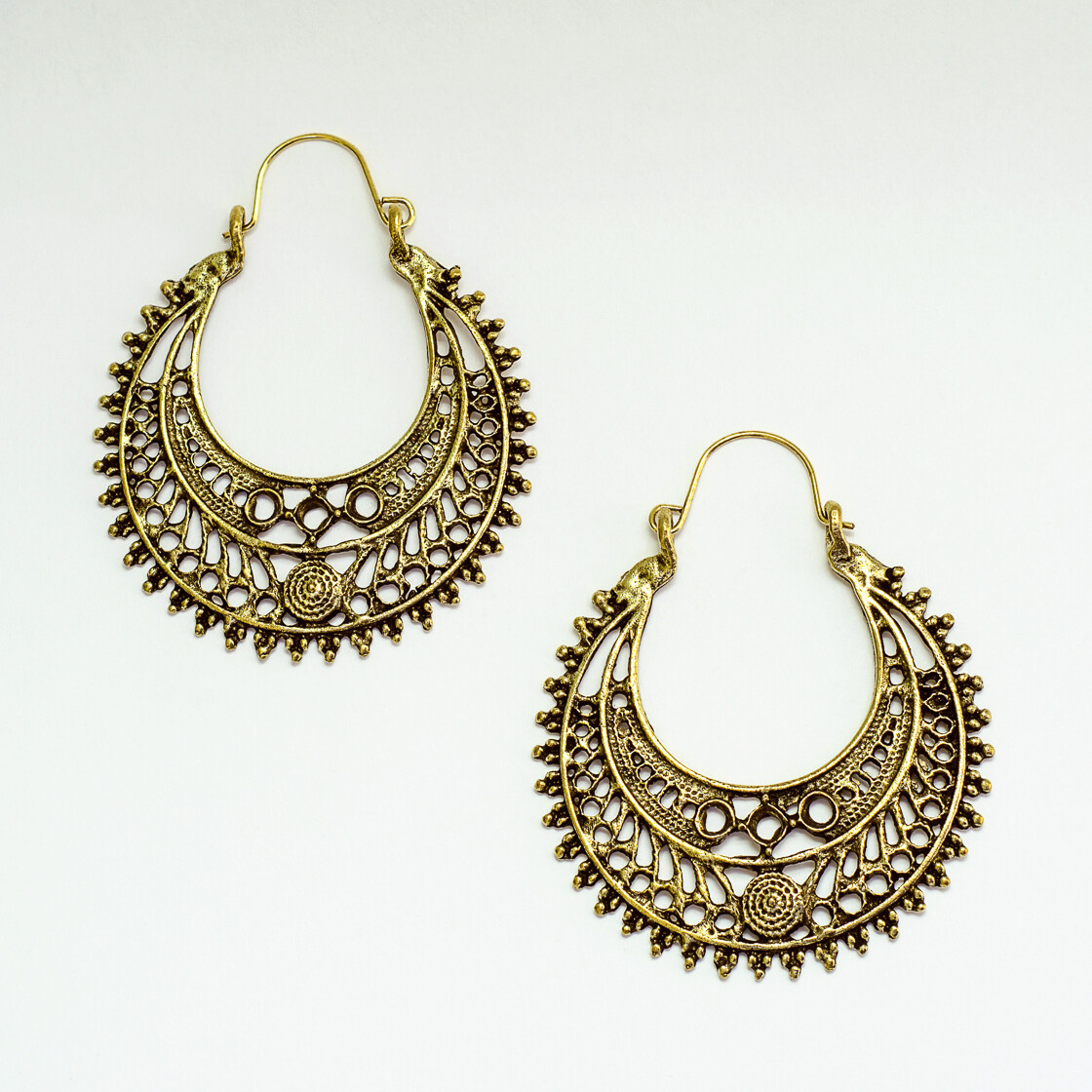 Antique Earrings 4 - BLACKDOLL ACCESSORIES
