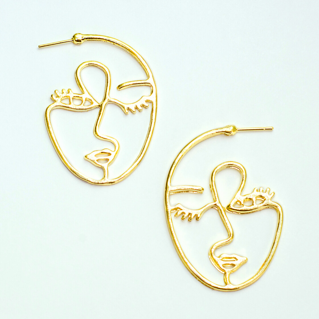 Big Face Earrings - BLACKDOLL ACCESSORIES