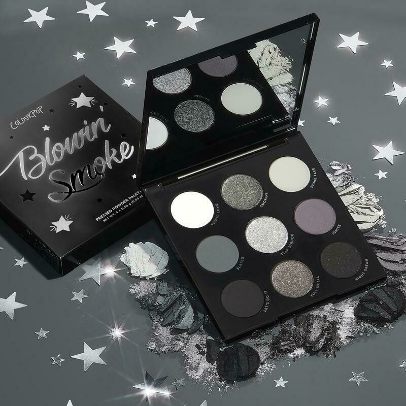 Blowing Smoke Shadow Palette - COLOURPOP