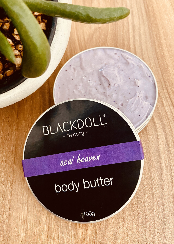 Manteca Corporal de Acai / Body Butter Acai Heaven - BLACKDOLL BEAUTY