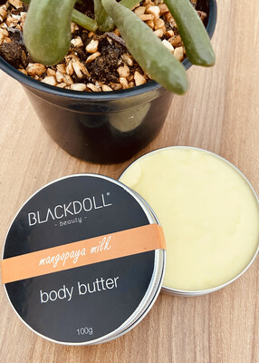 Manteca Corporal de Mango Papaya / Body Butter Mangopaya - BLACKDOLL BEAUTY