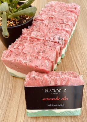 Jabón Delicioso de Sandía/Delicious Soap Watermelon Slice - BLACKDOLL BEAUTY