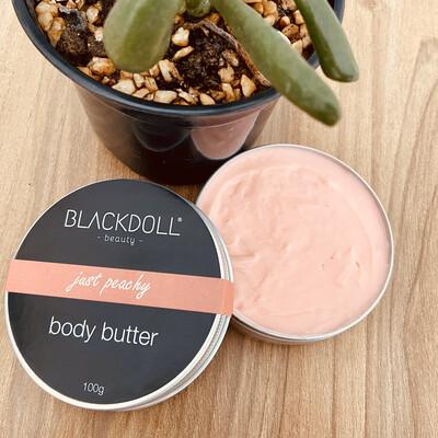 Manteca Corporal de Durazno Chabacano / Body Butter Just Peachy - BLACKDOLL BEAUTY