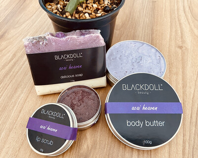 Kit Acai Heaven/Acai - BLACKDOLL BEAUTY