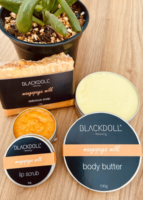 Kit Mangopaya Milk/Mango Papaya - BLACKDOLL BEAUTY
