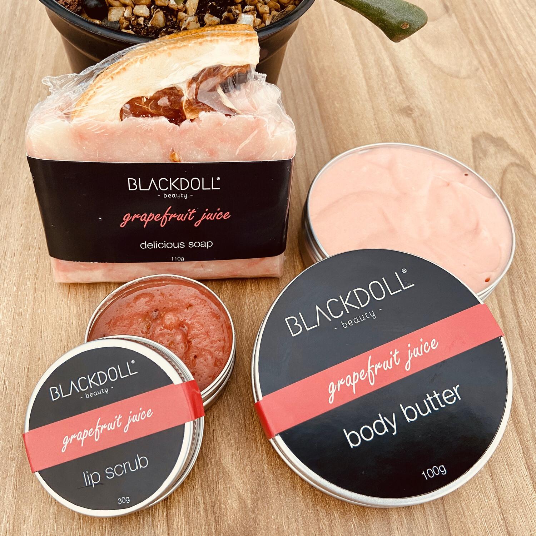 Kit Grapefruit Juice/Toronja - BLACKDOLL BEAUTY