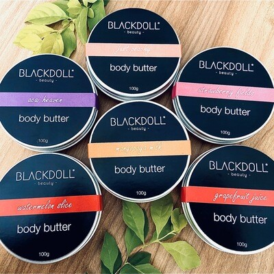Kit 6 Crema Corporal/Body Butter - BLACKDOLL BEAUTY