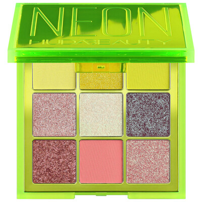 Neon Green Obsession Eyeshadow Palette - HUDA BEAUTY