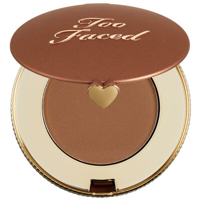 Chocolate Solei Matte Bronzer Travel Size - TOO FACED