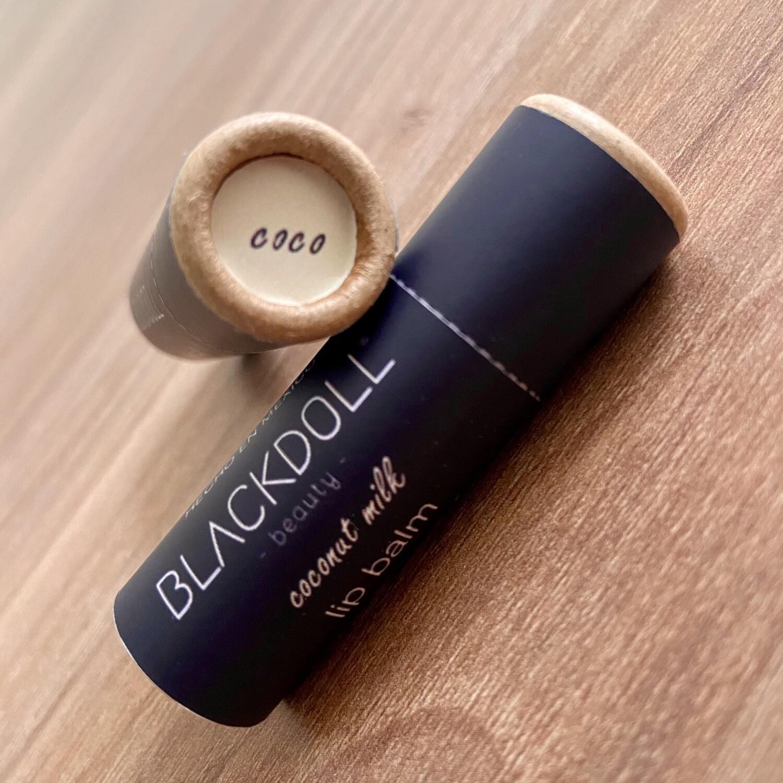 Bálsamo Labial de Coco/Lip Balm Coconut Milk - BLACKDOLL BEAUTY