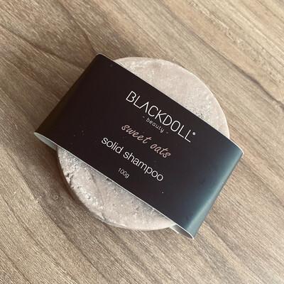 Shampoo Sólido de Avena/Solid Shampoo Sweet Oats para Cabello Seco, Hidratante - BLACKDOLL BEAUTY