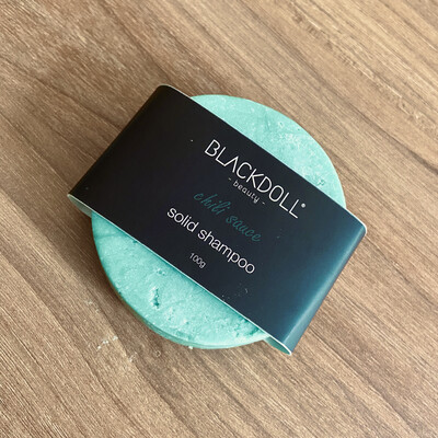Shampoo Sólido de Chile / Solid Shampoo Chili Sauce, para Cabello Graso, Anticaida, Acelera Crecimiento - BLACKDOLL BEAUTY