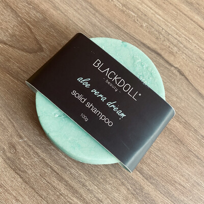 Shampoo Sólido de Aloe Vera/Solid Shampoo Aloe Vera Dream para Cabello Seco, Combate Alopecia o Calvicie - BLACKDOLL BEAUTY