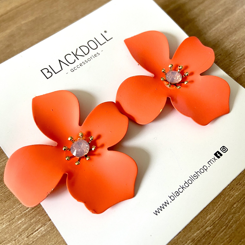 Flowers Earrings - BLACKDOLL ACCESSORIES