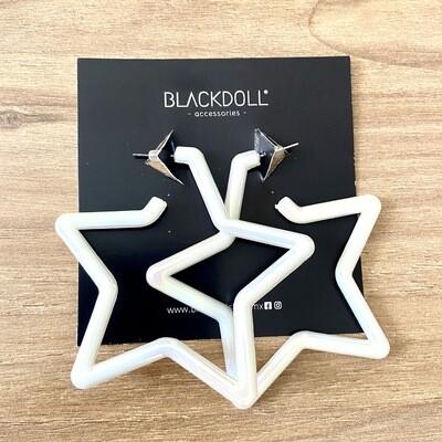 Big Tornasol Star Earrings  - BLACKDOLL ACCESSORIES