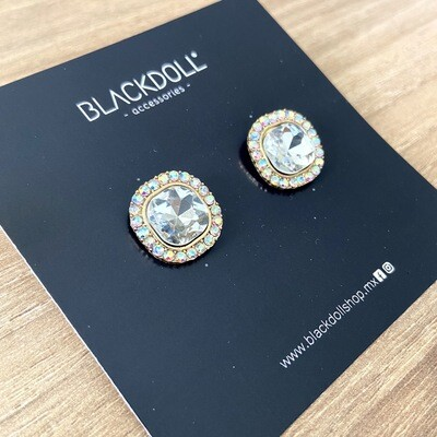 Tornasol Stone Earrings  - BLACKDOLL ACCESSORIES