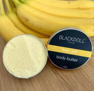 Manteca Corporal de Plátano / Body Butter Banana Split - BLACKDOLL BEAUTY
