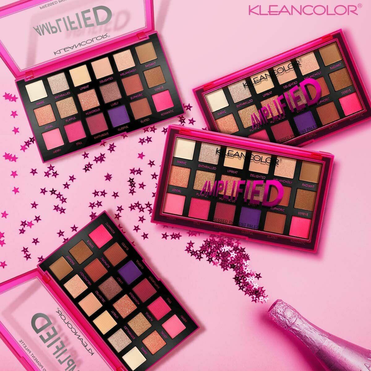 Amplified Pressed Pigment Palette - KLEANCOLOR
