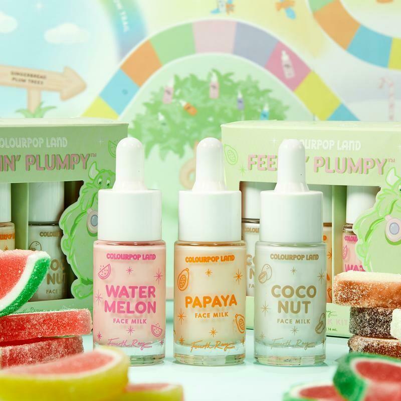 Feelin' Plumpy Face Milk Mini Kit - COLOURPOP