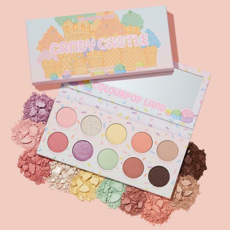 Candy Castle Shadow Palette - COLOURPOP