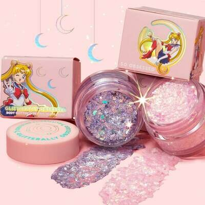 Bundle Glitter Gel Sailor Moon Collection - COLOURPOP