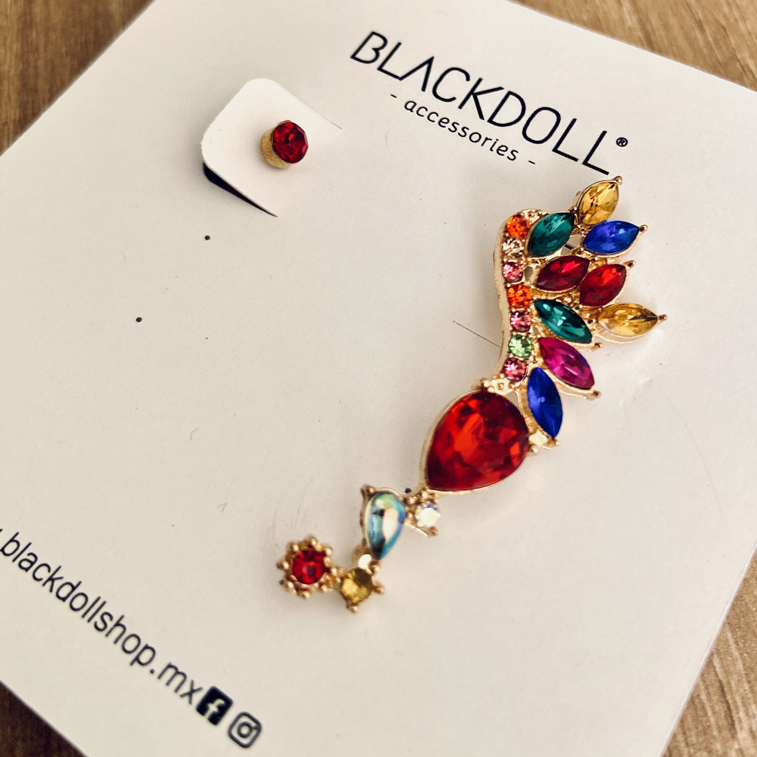 Earcuff Colorfull 1 - BLACKDOLL ACCESSORIES