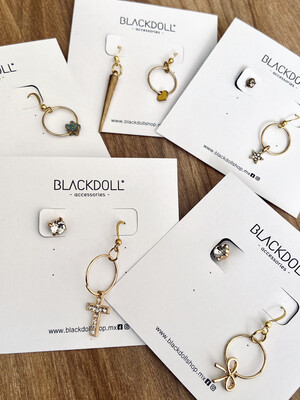 Popurrí Earrings - BLACKDOLL ACCESSORIES