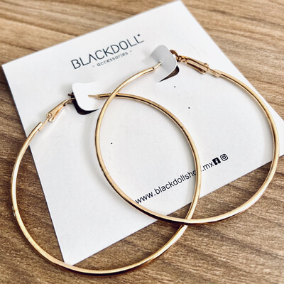 Basic Hoops - BLACKDOLL ACCESSORIES