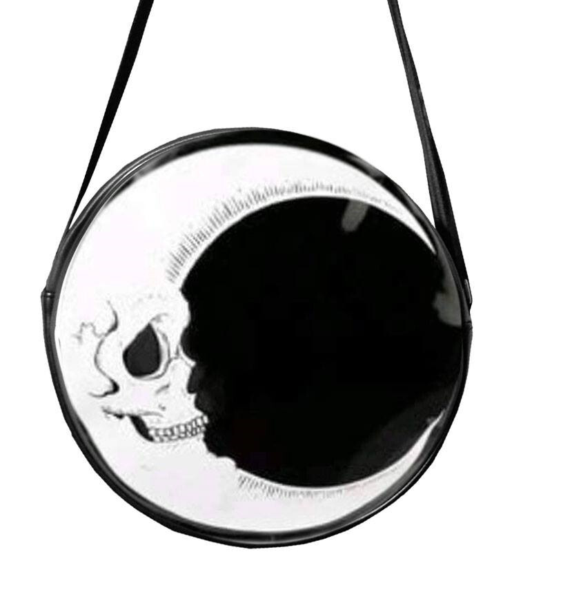 Moon Skull Croosbody - HORROR BAGS
