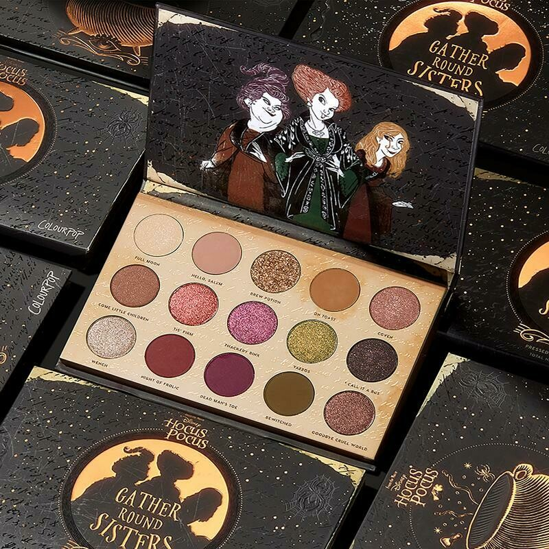 Gather Round Sisters Hocus Pocus Collection - COLOURPOP