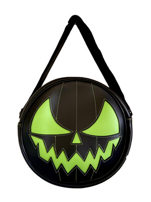 Pumpkin Green Crossbody - HORROR BAGS