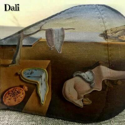 Cubrebocas Dali Multicapa Lavable y Reusable Talla M