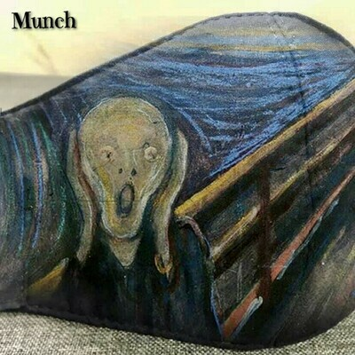 Cubrebocas Munch Lavable y Reusable Talla G