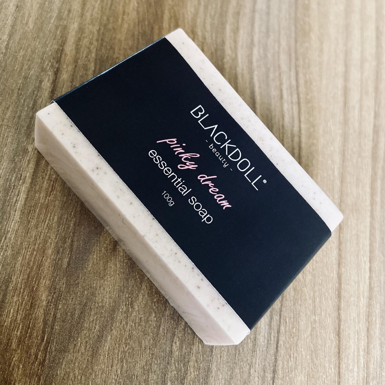 Jabón Esencial de Arcilla Rosa y Lavanda / Essential Soap Pinky Dream Piel Sensible - BLACKDOLL BEAUTY