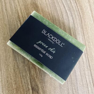 Jabón Esencial de Arcilla Verde, Espirulina y Romero / Essencial Soap Green Skin Astringente - BLACKDOLL BEAUTY