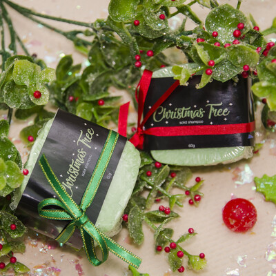 Solid Shampoo Christmas Tree / Shampoo Sólido Árbol de Navidad - BLACKDOLL BEAUTY