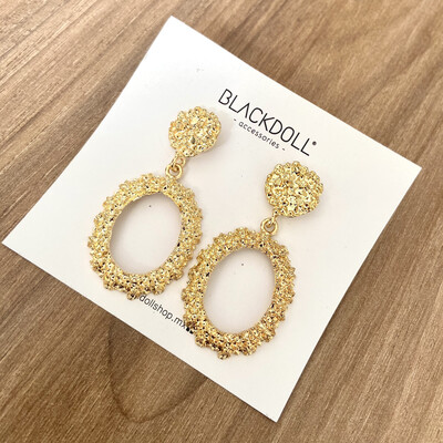 Chunky Gold Earrings - BLACKDOLL ACCESSORIES