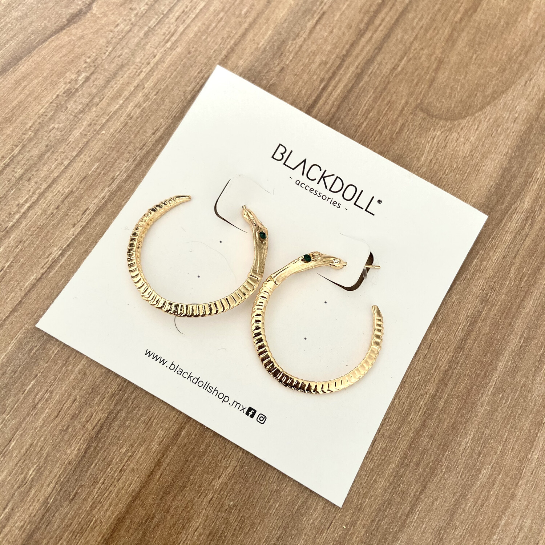 Snake Earrings- BLACKDOLL ACCESSORIES