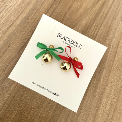 Holiday 1 Christmas Earrings - BLACKDOLL ACCESSORIES