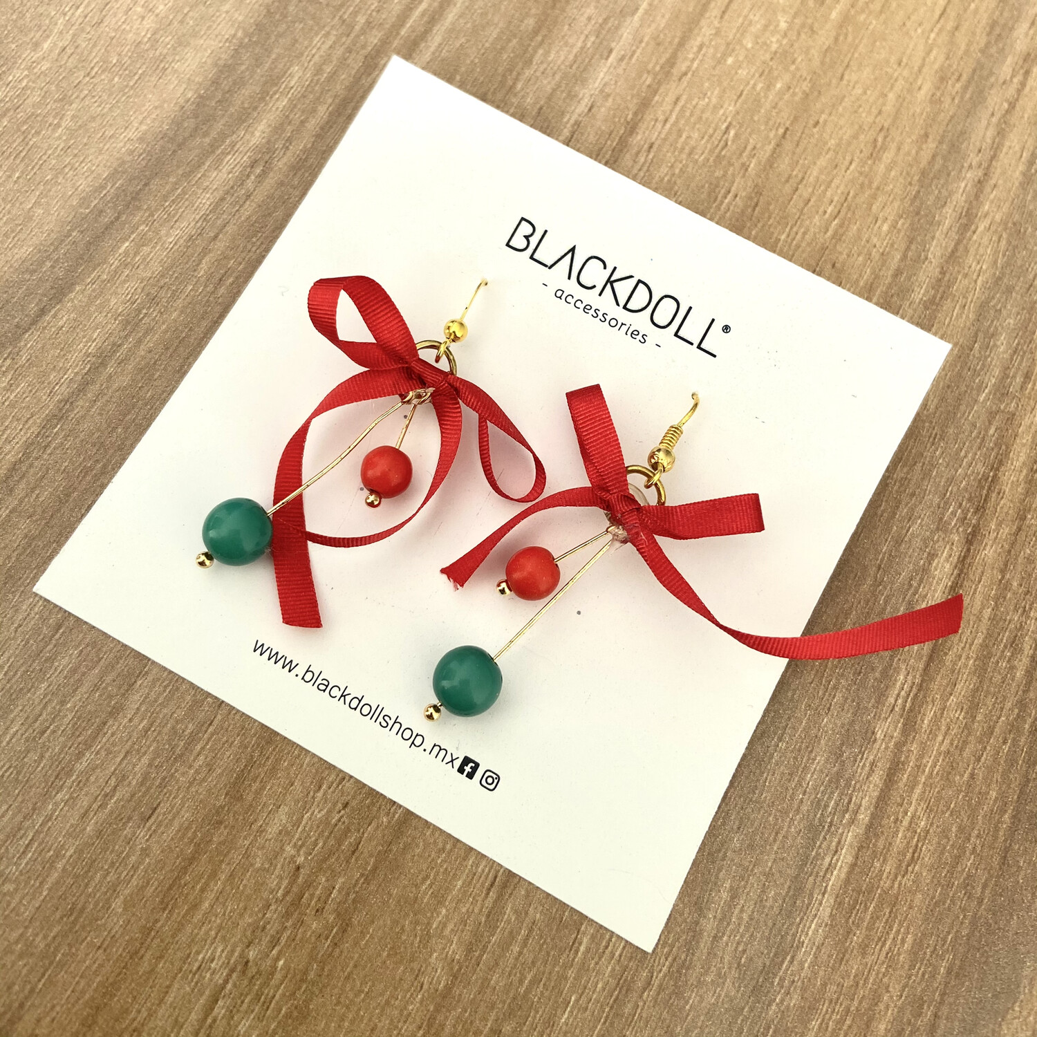 Holiday 3 Christmas Earrings - BLACKDOLL ACCESSORIES
