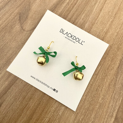 Holiday 2 Christmas Earrings - BLACKDOLL ACCESSORIES