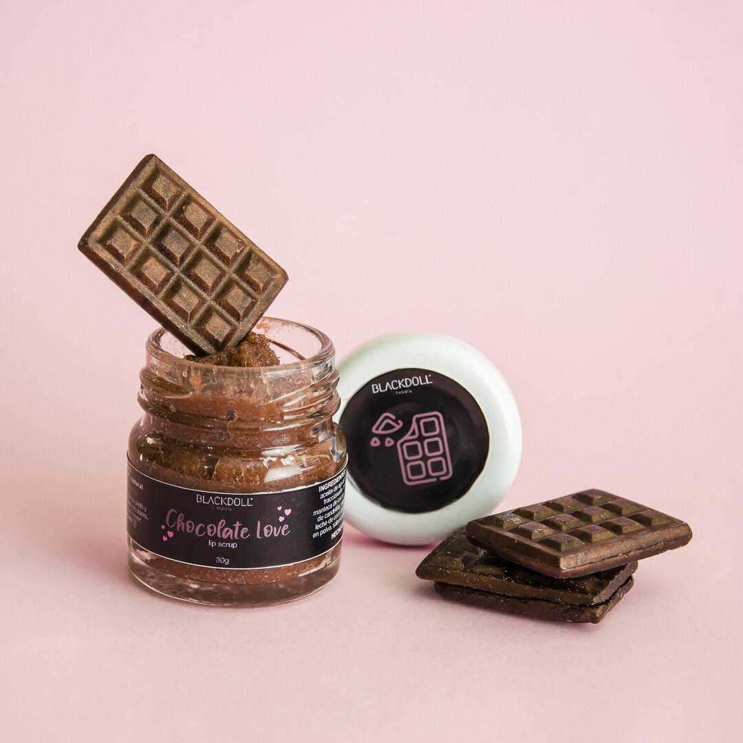 Exfoliante Labial de Chocolate - BLACKDOLL BEAUTY