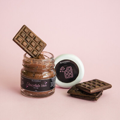 Exfoliante Labial de Chocolate - BLACKDOLL BEAUTY
